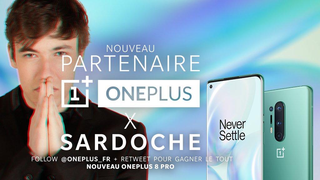 Partenariat marketing sardoche et Oneplus